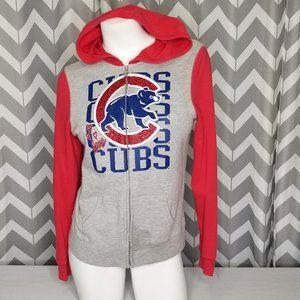 5TH & OCEAN Chicago Cubs Basball zip up hoodie